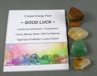 crystal energy good luck pack