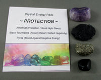 Protection! Crystal Energy Pack T618