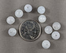 Blue Calcite Loose Beads Round 8mm 10pcs (1775)