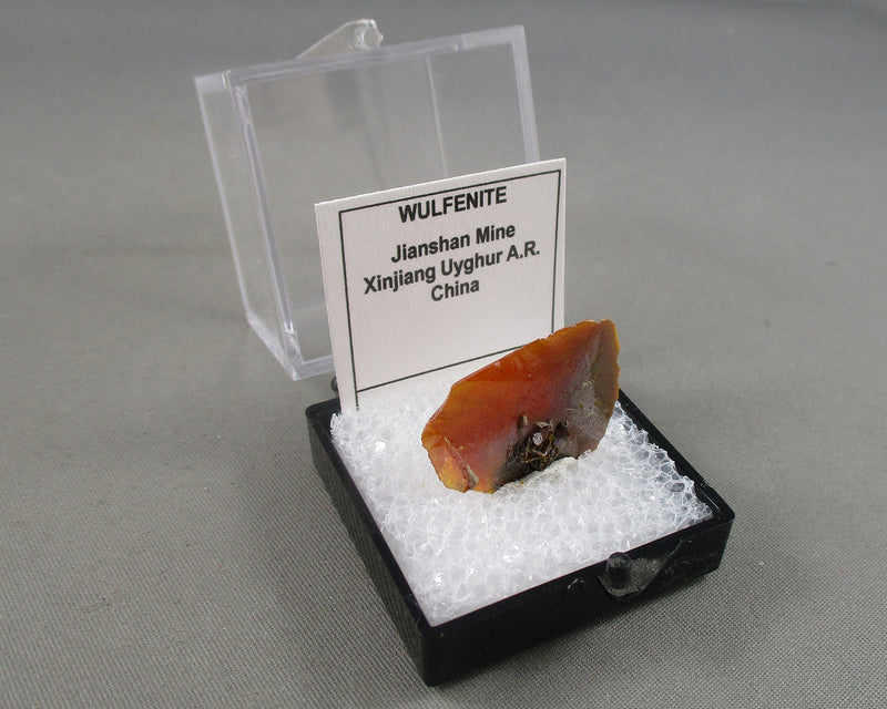 Wulfenite Specimen Micro Mount 1pc B329-3