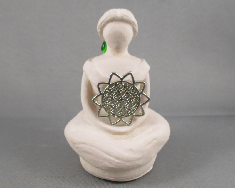 Flower of Life Goddess Statue 1pc A073-2
