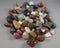 1/2 lb lot of bulk polished stones