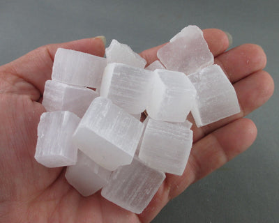 selenite cubes