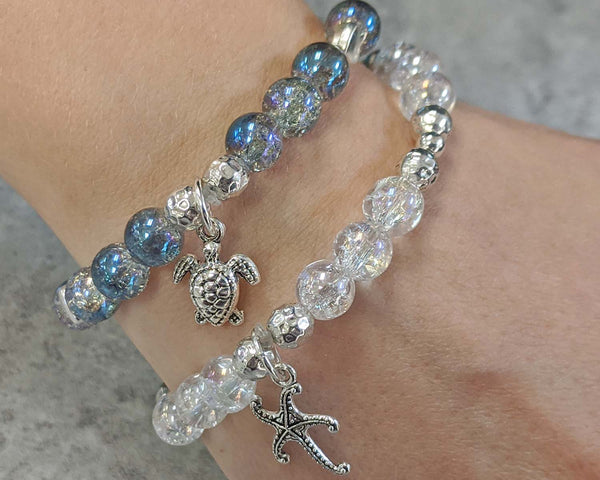 Mermaid Gemstone Bracelet 1pc
