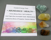 crystal energy abundance and wealth pack