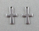 Cross Charms Stainless Steel 10pcs 17x12mm  (0326)