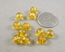 Citrine Loose Beads Round Various Sizes