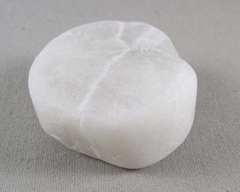 White Quartz Frosted Crystal 1pc B221-4