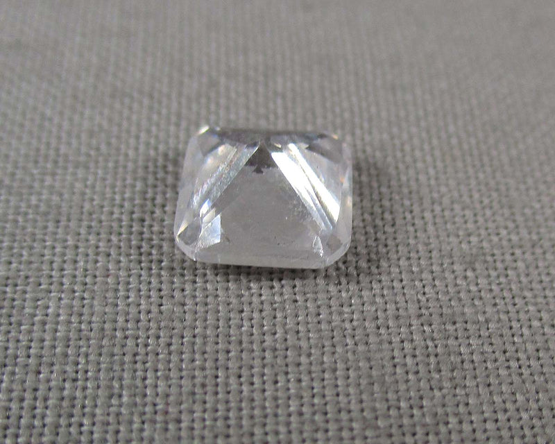 Cubic Zirconia Square Cut Crystal 1pc B612-5