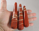 Red Jasper Stone Wand 1pcs T308