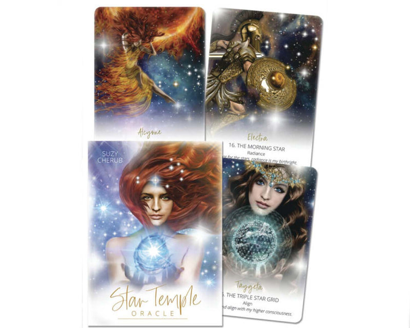 Star Temple Oracle Deck - Suzy Cherub & L. Savolainen (N011)