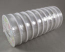 BULK Clear Stretch Elastic 0.8mm - 10 meters 10 Rolls (4008)