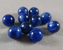Blue Kyanite Loose Beads Round 8mm 2pcs (1428)