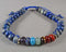 Lapis Lazuli & Chakra Gemstone Bracelet (Adjustable) 1pc (1462)