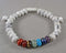 Howlite & Chakra Gemstone Bracelet (Adjustable) 1pc (1463)