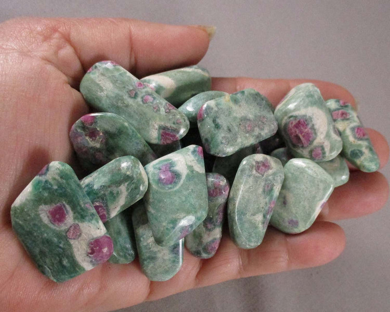 Ruby Fuchsite Polished Stone 1pc T059