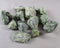 Green Diopside Stones Raw 3pcs T207