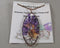 Amethyst Tree of Life Necklace 1pc (Z100)