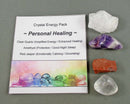 personal healing crystal energy kit