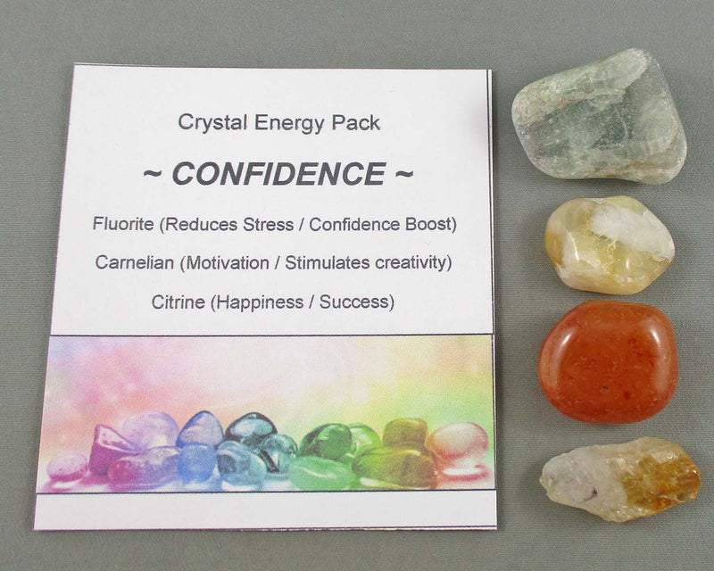 confidence building crystal energy kit