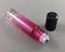Glass Roller Bottle for Essential Oil (Pink/Clear) 10ml (1041)