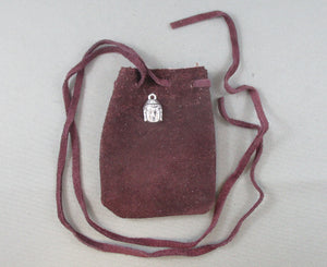 buddha head gemstone bag