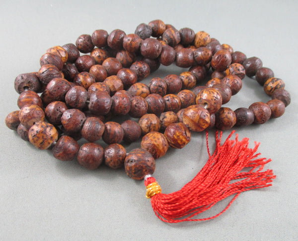 108 bead mala bodhi seed necklace