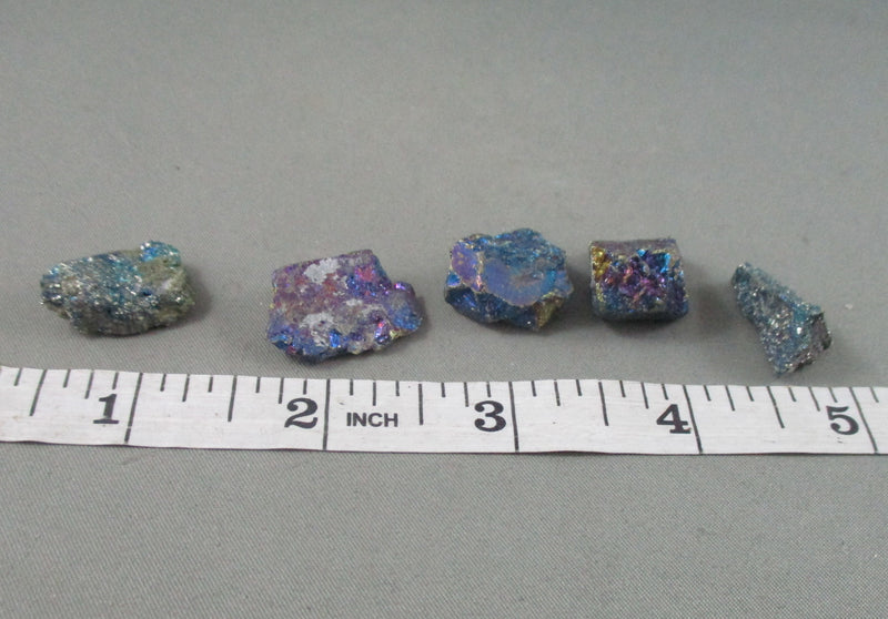 Rainbow Peacock Ore (Small) 5pcs T278