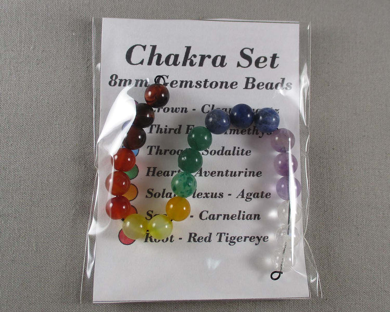 Chakra Bead Set Various Sizes