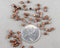 Crimp Beads Antique Copper Tone 3mm 250 pcs (0430-2*)