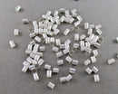 Crimp Beads Silver Tone 3mm 200 pcs (1404)