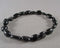 Black Tourmaline Protection Stone Bracelet 1pc (1556)