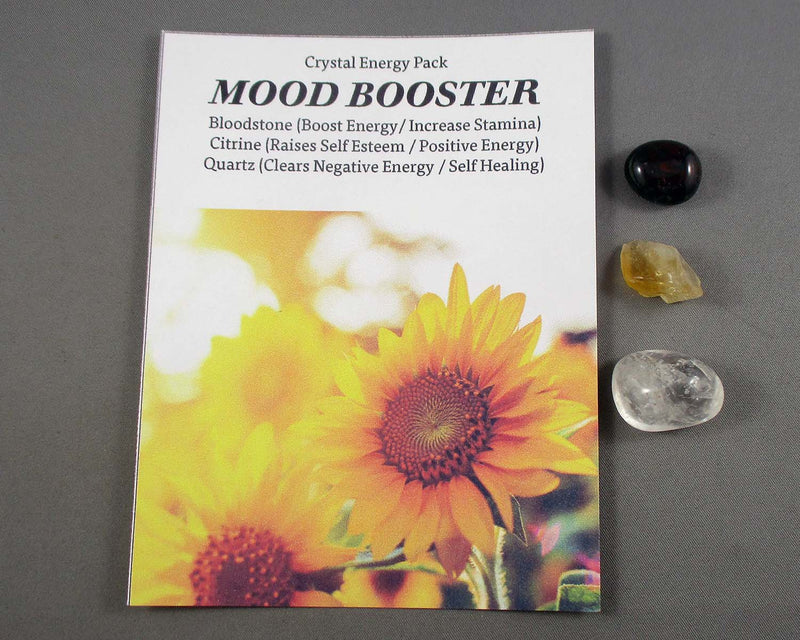 Mood Booster! Crystal Energy Kit A019