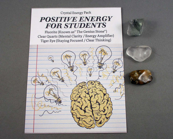 Positive Energy for Students! Crystal Energy Kit A021