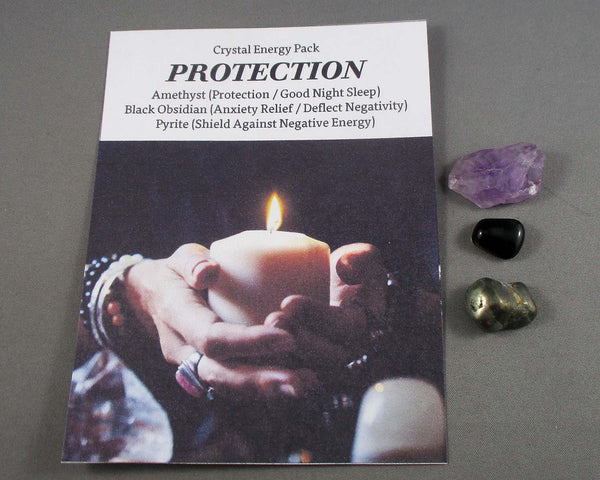 Protection! Crystal Energy Kit A023