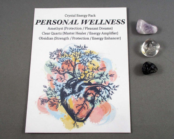 Personal Wellness! Crystal Energy Kit A024