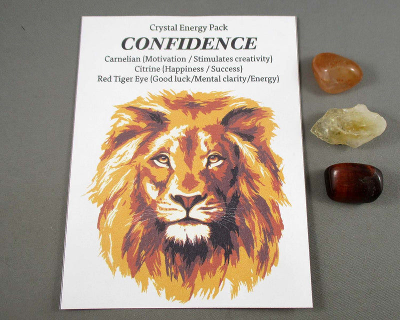 Confidence! Crystal Energy Kit A026