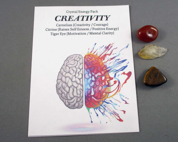 Creativity! Crystal Energy Kit A028