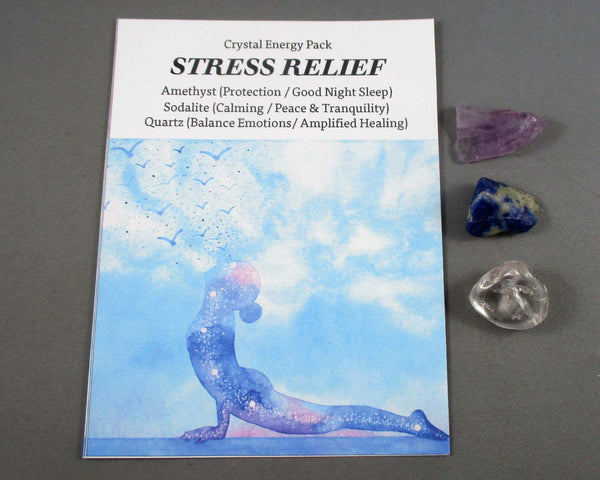 Stress Relief! Crystal Energy Kit A029