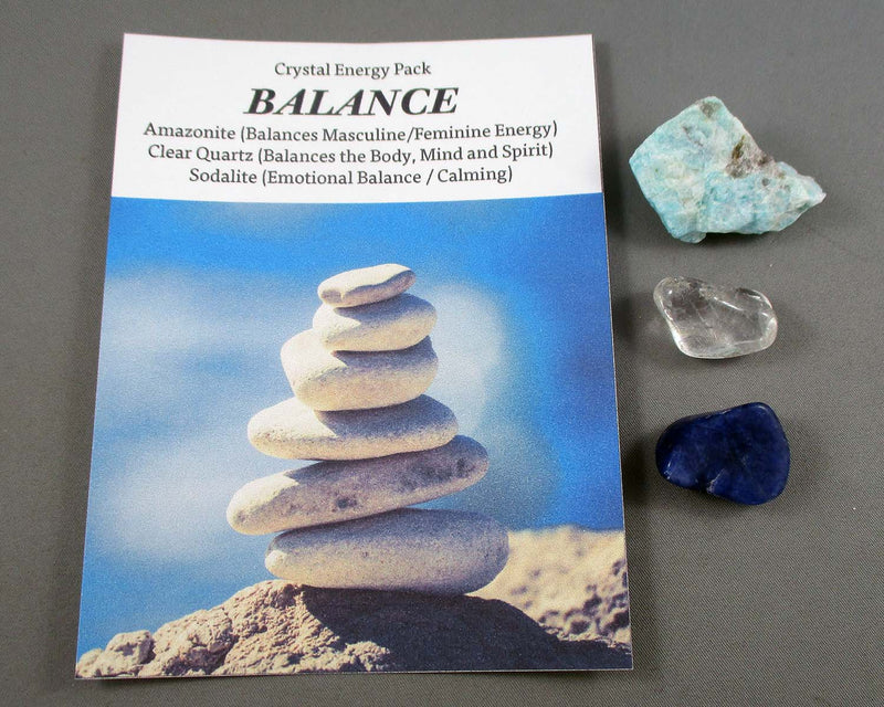 Balance! Crystal Energy Kit A030