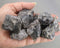 Dark Smoky Quartz Crystals Raw 3pcs T094