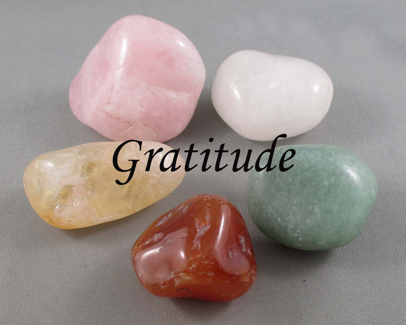 Up Lift Your Energy with a Gratitude Stone!