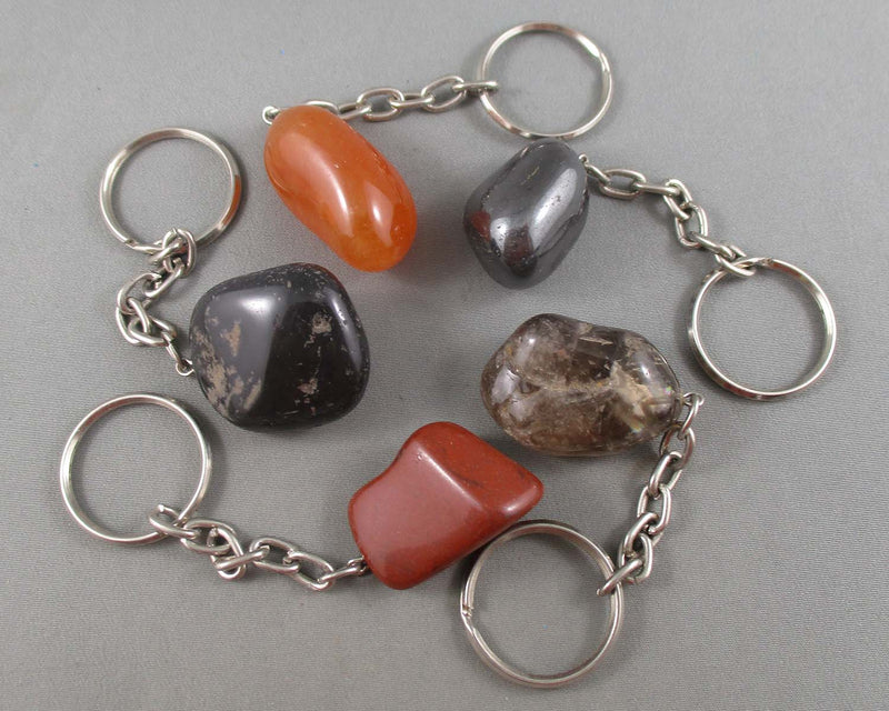 Crystal Keychain 1pc (Various Stone Types)