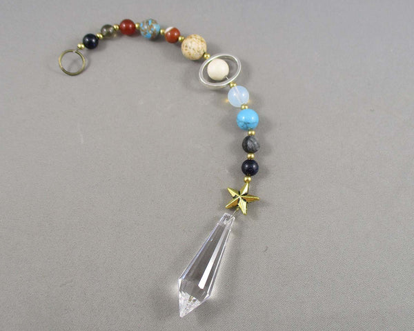 gemstone planetary sun catcher