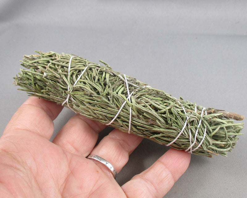 "4"" Rosemary Smudge Stick 1pc A103"