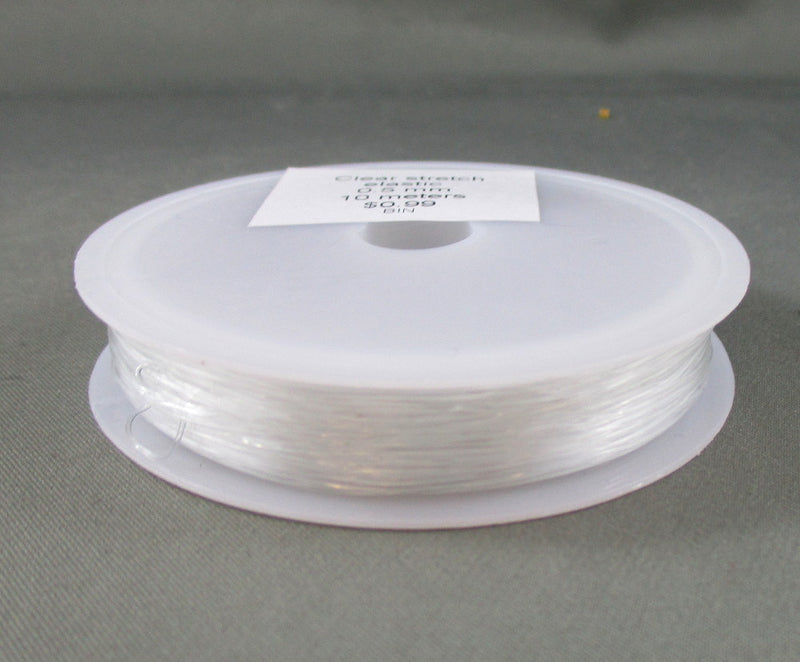 Clear Stretch Elastic 0.5mm - 20 meters 1pc (4003)