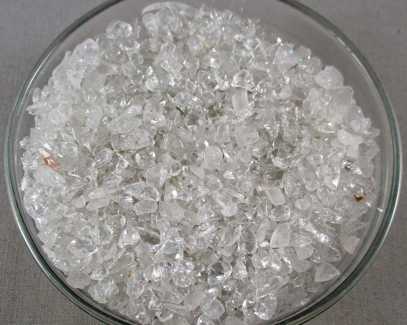Clear Quartz Chips (Undrilled)
