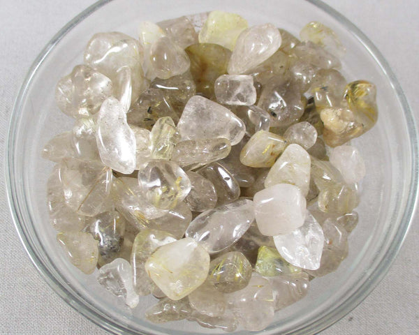 Rutilated Quartz Large Chips (Undrilled)