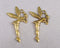 Fairy Charms Gold Tone 4pcs (0389*)
