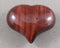 red tiger eye heart